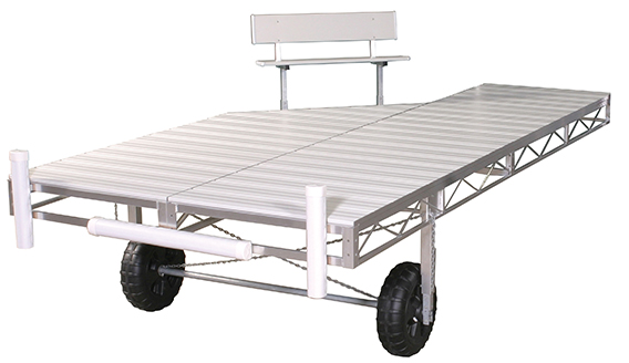 Porta-Dock Aluminum Roll-in dock