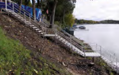 Adjustable Porta-Dock Steps