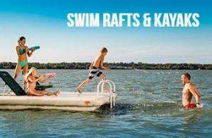 Wave Armor Swim Rafts and Kayaks