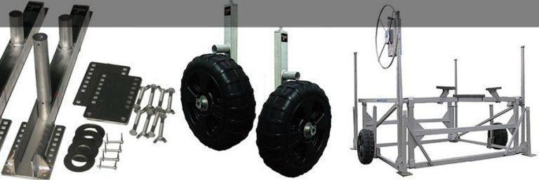 Smarte Jack™ Boat Lift Wheel Kit
