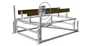 Cantilever Lift with Pontoon Rack Kit