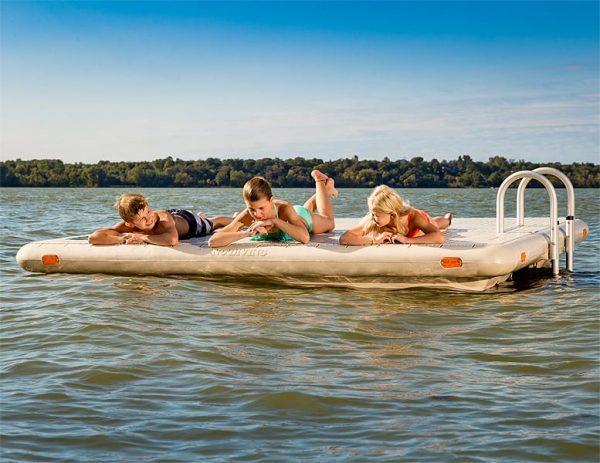 Wave Armor Otter Island Swim Rafts